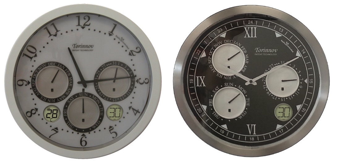 Torinnov Automatic Analogue And Digital Perpetual Calendar